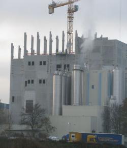 Milchtrocknung und Pulverlager, Neubau frischli