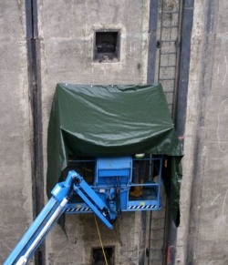 Sanierung Nischenpoller und Balkone