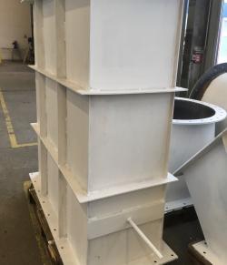 Rohr- und Kanalteile für Heizgasventilatoren