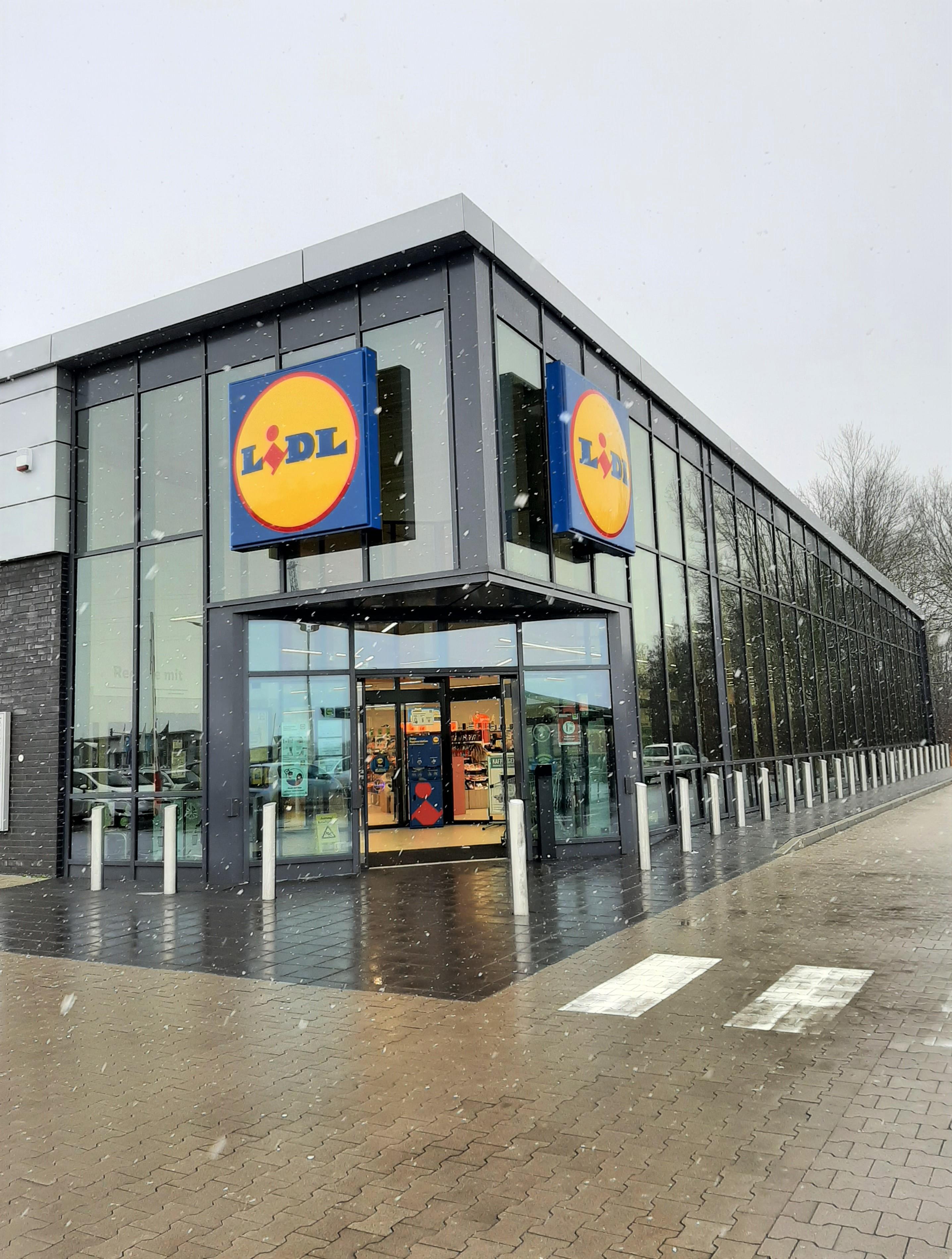 Neubau eines Verbrauchermarktes in Brake