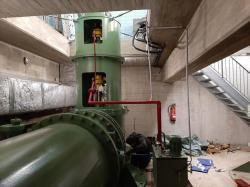 Instandsetzung der Pumpe Nr. 3