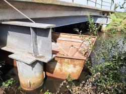 Ertüchtigung von zwei Wirtschaftsbrücken über dem Moorriemer Kanal