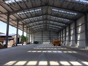 Stahlbau / Industrieservice / Zerspanung